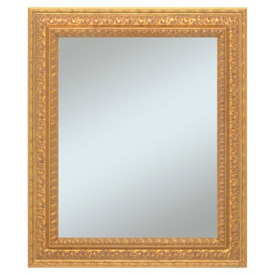 "<strong>Alpine Art and Mirror</strong> 36"" H x 30"" W Castle Wall Mirror"
