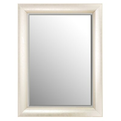 "<strong>Alpine Art and Mirror</strong> 37"" H x 27"" W Sandwood Molding Wall Mirror"