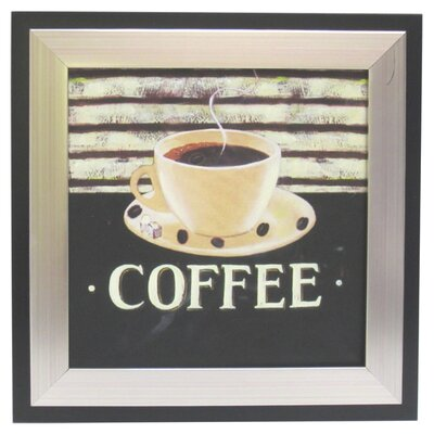 <strong>Alpine Art and Mirror</strong> Kitchen Coffee Canvas Wall Art