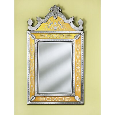 Venetian Gems Natasha Small Wall Mirror in Gold