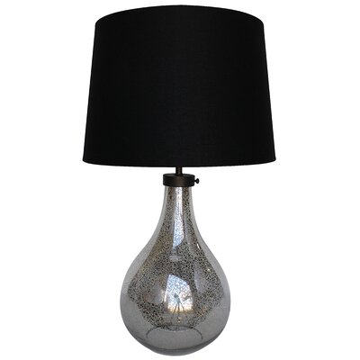 """White x White Mason 24"""" H Table Lamp with Empire Shade"""