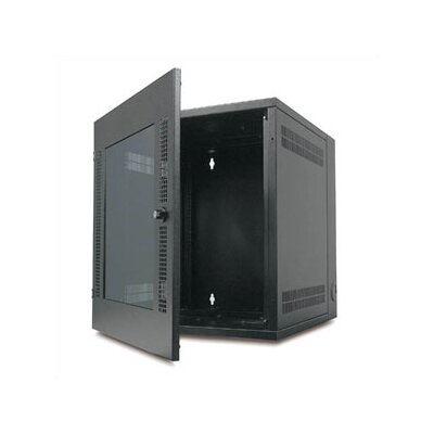 APC® NetShelter WX Wall Mount Enclosure with 13U Glass Door