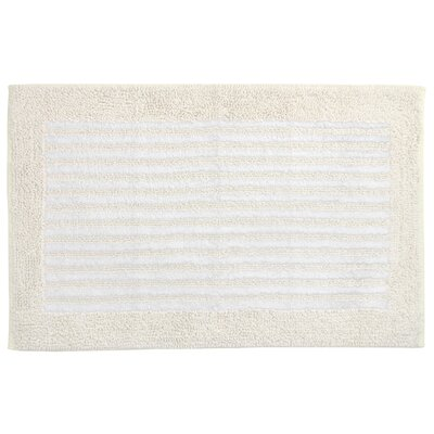 Eileen West Classics Spa Stripe Bath Rug