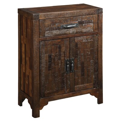 Coast to Coast Imports LLC 1 Drawer 2 Door Cabinet