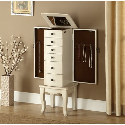 Coast to Coast Imports LLC Jewelry Storage Chest