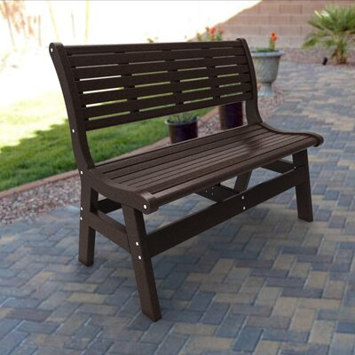 Malibu Outdoor Living Newport Polyethylene Garden Bench