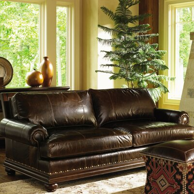Fieldale Lodge Chambers Leather Sofa