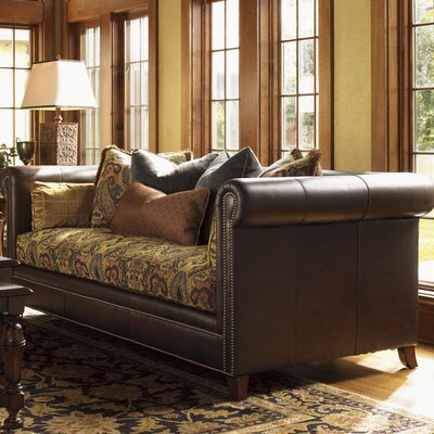 Palos Verdes Moreno Leather/Fabric Sofa