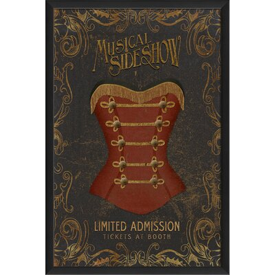 Musical Sideshow Wall Art