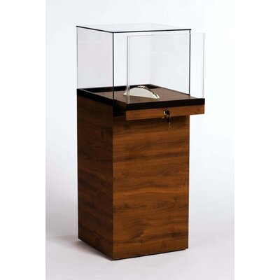 Tecno Display Pedestal Display Case With Glass Top
