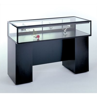 Tecno Display Sit Down Jewelry Case with Standard Finishes