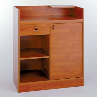 Tecno Display Cash Wrap Cabinet with Premium Finishes