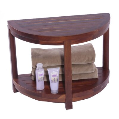 Outdoor Classic Spa Teak Side Table