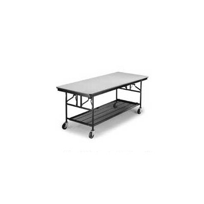 Midwest Folding Products Mobile Utility Table