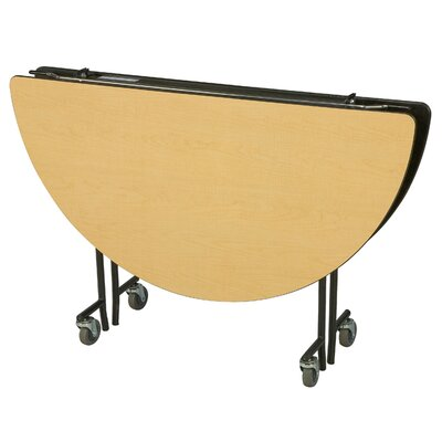 "Midwest Folding Products 27"" x 72"" Round Mobile Table Unit"