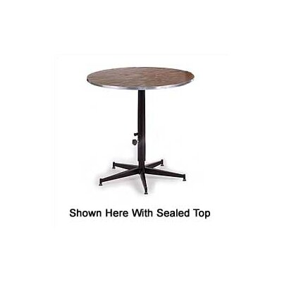 Midwest Folding Products Dual Height Cocktail Table with Laminate Top25