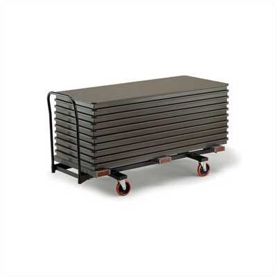"Midwest Folding Products Heavy Duty Table Caddy for up to 72"" L Tables"