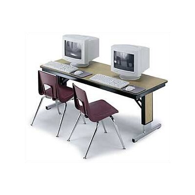 "Midwest Folding Products TL/TLA Series 96"" W x 30"" D Seminar Table"