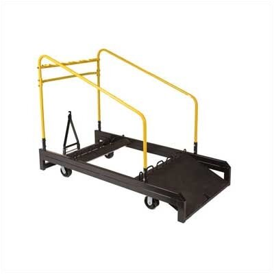 Midwest Folding Products Upperzone Round Table Dolly