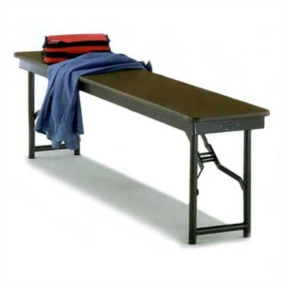 Midwest Folding Products Particleboard Core Bench