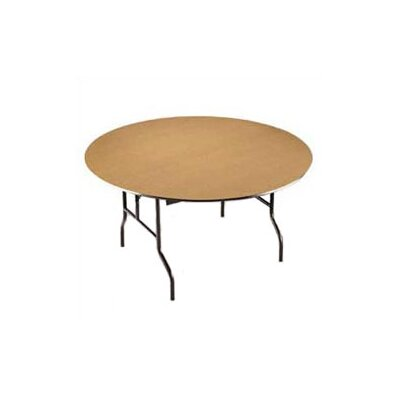 Midwest Folding Products Round Plywood Core Banquet Table