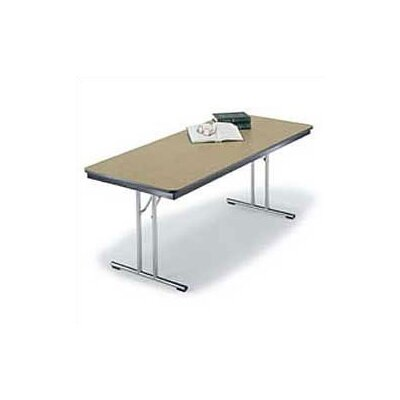 Midwest Folding Products Chrome Leg Designer Series Folding Conference Table