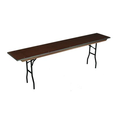 Midwest Folding Products Standard Seminar Table with Plywood Top
