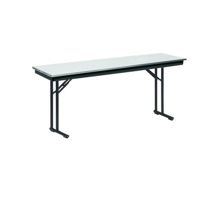 Midwest Folding Products Comfort Leg Seminar Table with Padded Top