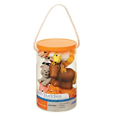 Battat Farm Bath Buddies Toy