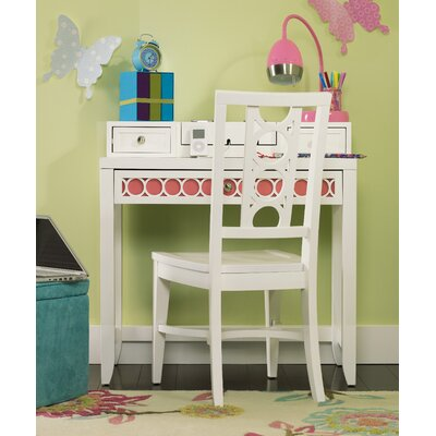 "Opus Designs Lily 34"" W Writing Desk with Chair"