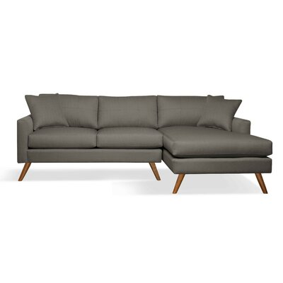 True Modern Dane 90' Sofa with Chaise