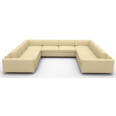 True Modern Jackson &quot;U&quot; Shaped Sectional