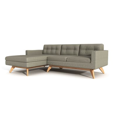 True Modern Luna Chaise Sectional
