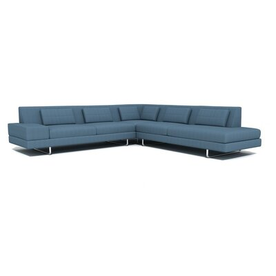 TrueModern Hamlin Corner Sectional Sofa