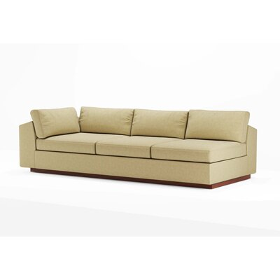 True Modern Jackson Armless Split Sofa