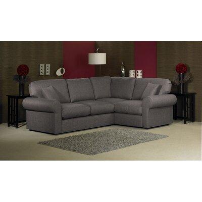 Lily 4 Seater High Back Corner Sofa Wf