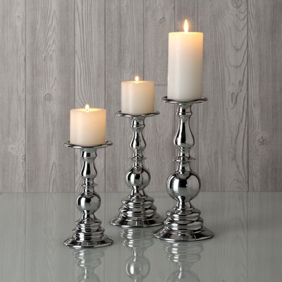 Shiraleah Illuminaria Aluminum Martel Candle Holder