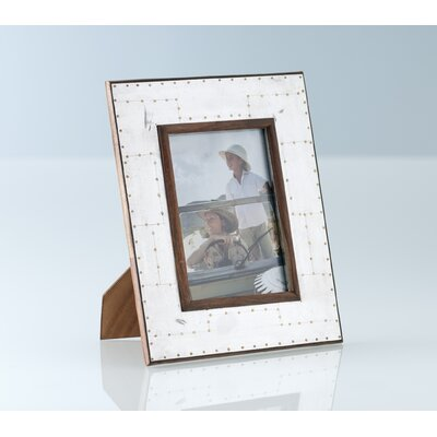 Shiraleah Ancient Arts Riveted Picture Frame