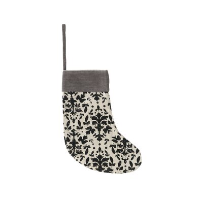 Shiraleah Holiday Decor Baroque Stocking