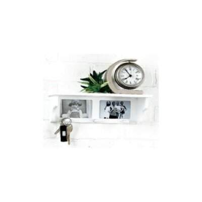 Photo Wall Shelf with Hook