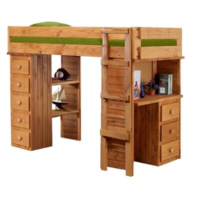 Loft Desk Bunk Beds | Wayfair