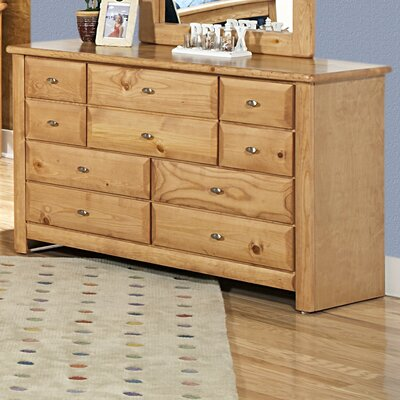 Chelsea Home 10 Drawer Dresser