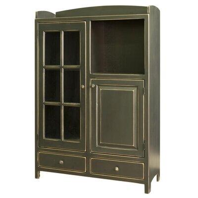 Samuel pottery pantry cabinet wayfair for Wayfair kitchen cabinets