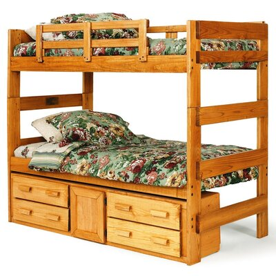 Extra Tall Twin over Twin Standard Bunk Bed with Underbed