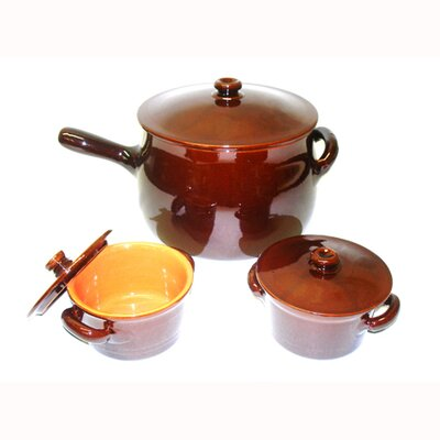 Terracotta Terracotta 6-Piece Cookware Set