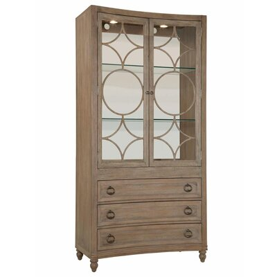 HGTV Home Caravan Bunching Curio Cabinet