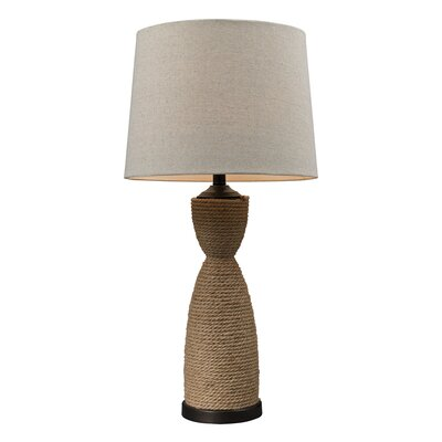 HGTV Home Rope Wrapped Table Lamp