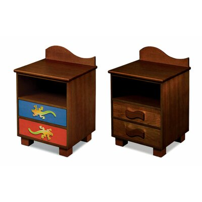 Room Magic Little Lizards 2 Drawer Nightstand