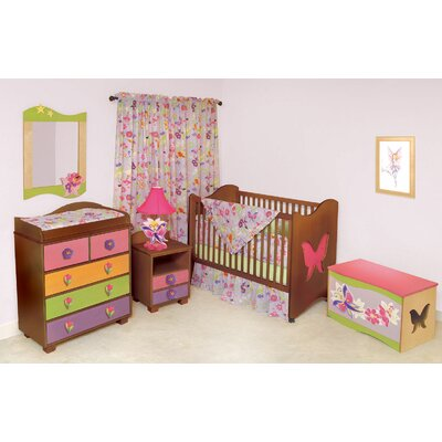 Room Magic Magic Garden 5 Piece Crib Set