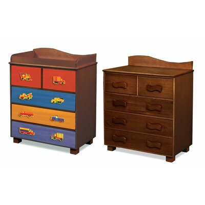 Room Magic Like Trucks 5-Drawer Chest